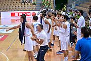 DESCRIZIONE : Capodistria Koper Nazionale Italia Uomini Adecco Cup Italia Italy Ucraina <br /> GIOCATORE : Esultanza<br /> CATEGORIA : Esultanza<br /> SQUADRA : Italia Italy<br /> EVENTO : Adecco Cup<br /> GARA : Italia Italy Ucraina<br /> DATA : 21/08/2015<br /> SPORT : Pallacanestro<br /> AUTORE : Agenzia Ciamillo-Castoria/ M.Ozbot<br /> Galleria : FIP Nazionali 2015<br /> Fotonotizia : Capodistria Koper Nazionale Italia Uomini Adecco Cup Italia Italy Ucraina