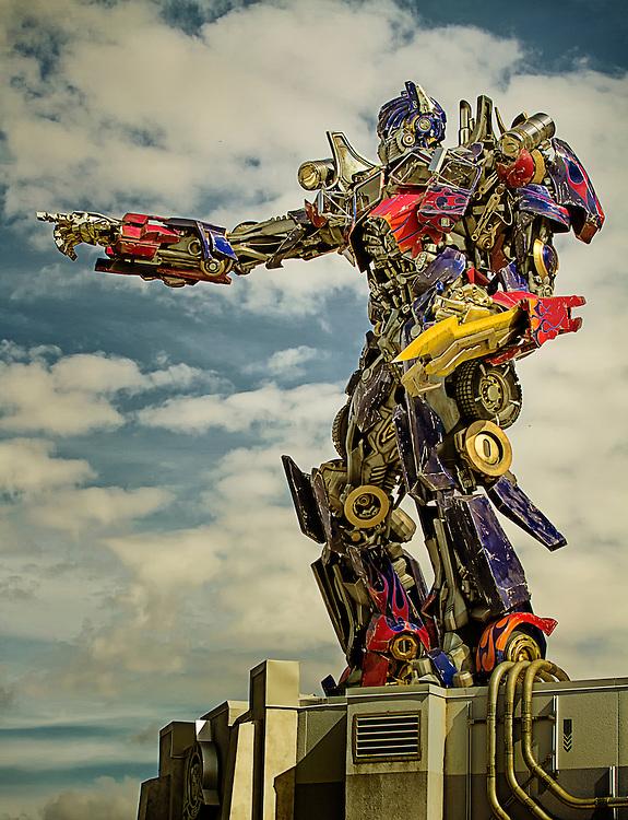 The Transformer Ride at Universal Studios. So much fun!!