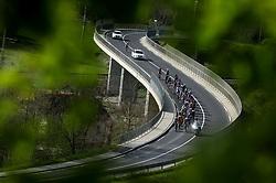 Riders in Prekmurje during 4th Stage from Prevalje to Dobrovnik, 190 km at Day 4 of DOS 2021 Charity event - Dobrodelno okrog Slovenije, on April 30, 2021, in Slovenia. Photo by Vid Ponikvar / Sportida