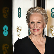Glenn Close Arrivers at EE British Academy Film Awards in 2019 after-party dinner at Grosvenor house on 10 Feb 2019.