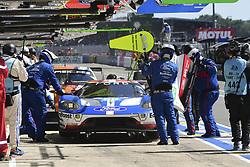 June 17, 2017 - Le Mans, France - 69 FORD CHIP GANASSI RACING TEAM USA (USA) FORD GT LMGTE PRO RYAN BRISCOE (USA) RICHARD WESTBROOK (GBR) SCOTT DIXON  (Credit Image: © Panoramic via ZUMA Press)