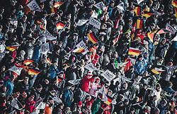 30.12.2018, Schattenbergschanze, Oberstdorf, GER, FIS Weltcup Skisprung, Vierschanzentournee, Oberstdorf, 2. Wertungsdurchgang, im Bild Zuschauer // German spectators during his 2nd Competition Jump for the Four Hills Tournament of FIS Ski Jumping World Cup at the Schattenbergschanze in Oberstdorf, Germany on 2018/12/30. EXPA Pictures © 2018, PhotoCredit: EXPA/ JFK