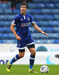 Cameron Burgess of Oldham Athletic  - Mandatory by-line: Matt McNulty/JMP - 03/09/2016 - FOOTBALL - Sportsdirect.com Park - Oldham, England - Oldham Athletic v Shrewsbury Town - Sky Bet League One