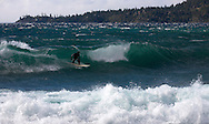 Surfing Tahoe's North Shore
