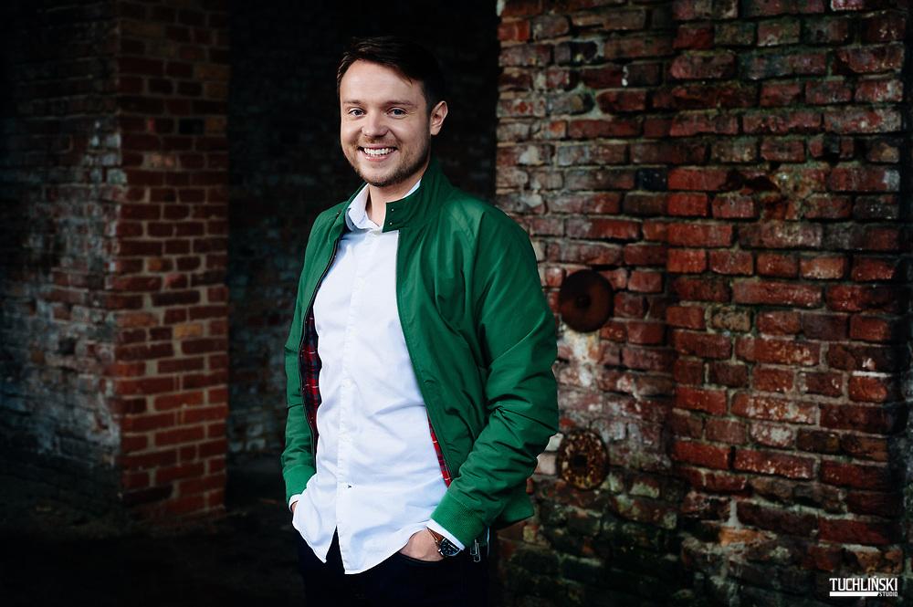 Warszawa; 07.09.2017r. <br /> 30 Under 30 N/z Maciej Michalski<br /> Fot. Adam Tuchlinski dla Forbes