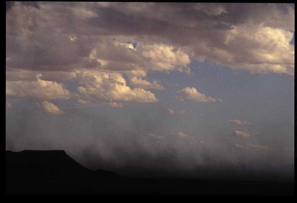 Dust storm near Tuba City.   1993