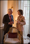 HUGO VICKERS; MARIANNE HINTON, Nicky Haslam hosts a party to launch a book by  Maureen Footer 'George Stacey and the Creation of American Chic' . With a foreword by Mario Buatta. Kensington. London. 11 June 2014