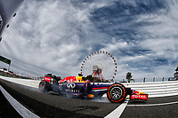 VETTEL Sebastian (Ger) Red Bull Renault Rb10 action   during the 2014 Formula One World Championship, Japan Grand Prix from October 3rd to 5th 2014 in Suzuka. Photo DPPI