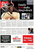 March 15, 2021 (AFRICA): Front-page: Today's Newspapers In Africa
