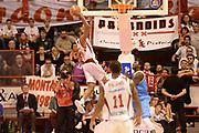 DESCRIZIONE : Pistoia campionato serie A 2013/14 Giorgio Tesi Group Pistoia Vanoli Cremona <br /> GIOCATORE : Kyle Gibson<br /> CATEGORIA : controcampo schiacciata<br /> SQUADRA : Giorgio Tesi Group Pistoia<br /> EVENTO : Campionato serie A 2013/14<br /> GARA : Giorgio Tesi Group Pistoia Vanoli Cremona <br /> DATA : 10/11/2013<br /> SPORT : Pallacanestro <br /> AUTORE : Agenzia Ciamillo-Castoria/GiulioCiamillo<br /> Galleria : Lega Basket A 2013-2014  <br /> Fotonotizia : Pistoia campionato serie A 2013/14 Giorgio Tesi Group Pistoia Vanoli Cremona<br /> Predefinita :