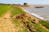 Bawdsey coastal erosion and film set, 29 May 2021