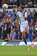 Daniel Leadbitter (2) of Bristol Rovers heads away during the EFL Sky Bet League 1 match between Bristol Rovers and Plymouth Argyle at the Memorial Stadium, Bristol, England on 8 September 2018.