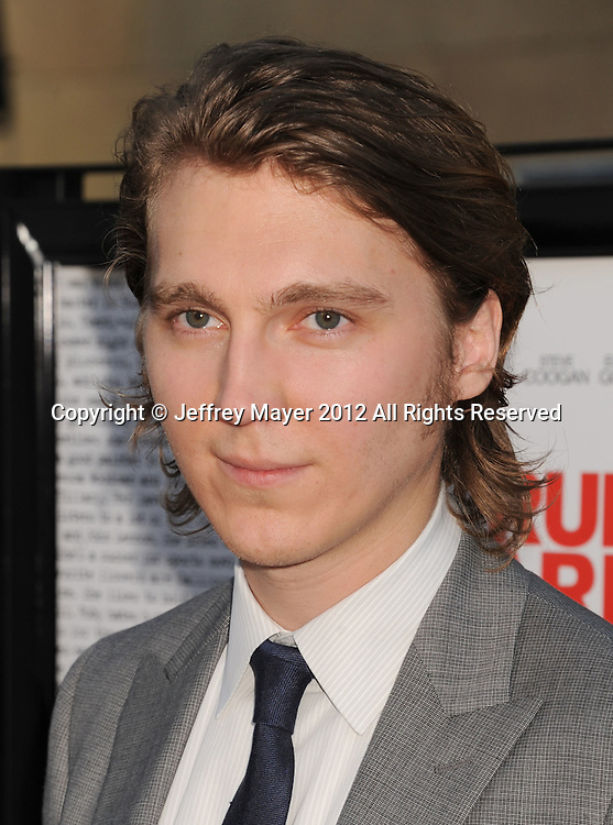HOLLYWOOD, CA - JULY 19: Paul Dano attends the 'Ruby Sparks' Los Angeles premiere at American Cinematheque's Egyptian Theatre on July 19, 2012 in Hollywood, California.