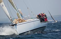 Largs Regatta Week 2015, hosted by Largs Sailing Club and Fairlie Yacht Club<br /> <br /> GBR9640R, Predator, Murray 41, Goodlad<br /> <br /> Credit Marc Turner