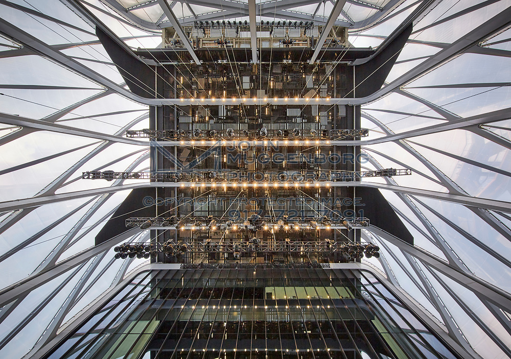 The Shed at Hudson Yards in NYC.<br /> Architectural photography by John  Muggenborg.<br /> <br /> www.johnmuggenborg.com