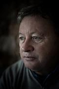 Ian woosnam shot at La Moye GC Jersey, Channel Islands. Ian Woosnam portrait