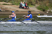 Crew: 81 - Cox / Dick - Barnes Bridge Ladies Rowing Club - W MasE 2x <br /> <br /> Pairs Head 2020