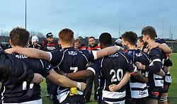 Bristol players and coaches in team huddle after the game - Mandatory by-line: Paul Knight/JMP - 07/01/2017 - RUGBY - SGS Wise Campus - Bristol, England - Bristol Academy U18 v Exeter Chiefs U18 - Premiership U18 League