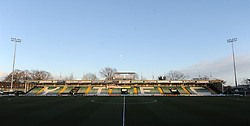 General view of Huish Park prior to kick off - Photo mandatory by-line: Harry Trump/JMP - Mobile: 07966 386802 - 03/03/15 - SPORT - Football - Sky Bet League One - Yeovil v Walsall - Huish Park, Yeovil, England.