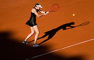 Elena Rybakina of Kazakhstan in action during the fourth round of the Roland-Garros 2021, Grand Slam tennis tournament on June 6, 2021 at Roland-Garros stadium in Paris, France - Photo Rob Prange / Spain ProSportsImages / DPPI / ProSportsImages / DPPI