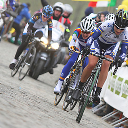 Tour of Flanders women Paterberg Emma Johansson takes the lead see the face off Marianne Vos Sportfoto archief 2013