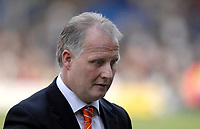 Photo: Leigh Quinnell.<br /> Luton Town v Southampton. Coca Cola Championship. 07/04/2007. Luton boss Kevin Blackwell unhappy with his teams defeat.