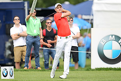 26.06.2015, Golfclub München Eichenried, Muenchen, GER, BMW International Golf Open, Tag 2, im Bild Maximilian Kieffer (GER) am Abschlag, Tee // during day two of the BMW International Golf Open at the Golfclub München Eichenried in Muenchen, Germany on 2015/06/26. EXPA Pictures © 2015, PhotoCredit: EXPA/ Eibner-Pressefoto/ Kolbert<br /> <br /> *****ATTENTION - OUT of GER*****