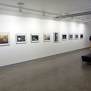 Installation in the Blue Sky Gallery in Portland, Oregon of The Fighting Season exhibition.<br /> (Credit Image: © Louie Palu/ZUMA Press)