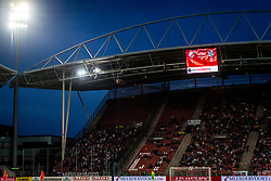 12-05-2018 NED: FC Utrecht - Heerenveen, Utrecht<br /> FC Utrecht win second match play off with 2-1 against Heerenveen and goes to the final play off / scoreboard Galgenwaard