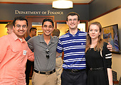 Finance Honors Students Meet & Greet - May 17, 2017