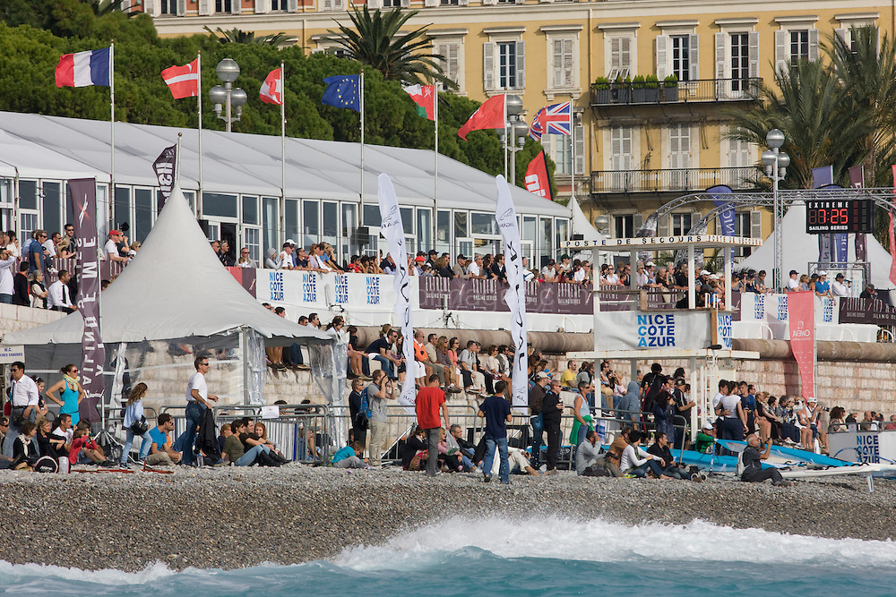 The Extreme Sailing Series 2012. Act 7 Nice. France.Credit: Lloyd Images