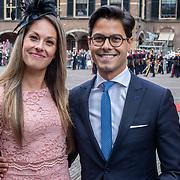 NLD/Den Haag/20190917 - Prinsjesdag 2019, Rob Jetten  en zus Nicole