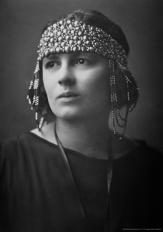 Rebecca West, Writer and Poet, 1918