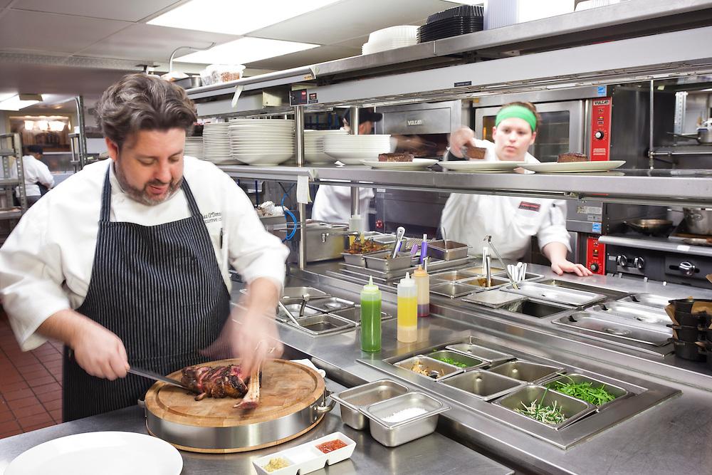 Chef of Michael Jordan's Steakhouse - Chicago