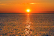 Sunrise over the Northumberland Strait<br /> Cap Lumiere<br /> New Brunswick<br /> Canada