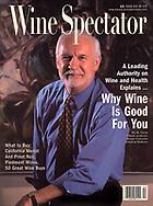 R Curtis Ellison portrait for Wine Spectator Magazine cover