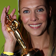 NLD/Uitgeest/20080116 - Uitreiking Popularitiets award Noord Holland 2008, Nance Coolen