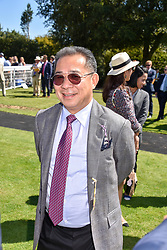 Vichai Srivaddhanaprabha owner of Leicester City FC at the Qatar Goodwood Festival - Glorious Goodwood, Goodwood Racecourse, West Sussex 02 August 2018.