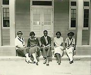 First graduates of Alabama Luther College, 1926.