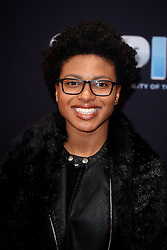 Kare Adenegan during the red carpet arrivals for BBC Sports Personality of the Year 2016 at The Vox at Resorts World Birmingham. Photo credit should read: Doug Peters/EMPICS Entertainment