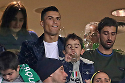 February 3, 2019 - Lisbon, PORTUGAL, Portugal - Cristiano Ronaldo, Juventus player, sees the game in the stands during the League NOS 2018/19 footballl match between Sporting CP vs SL Benfica. (Credit Image: © David Martins/SOPA Images via ZUMA Wire)