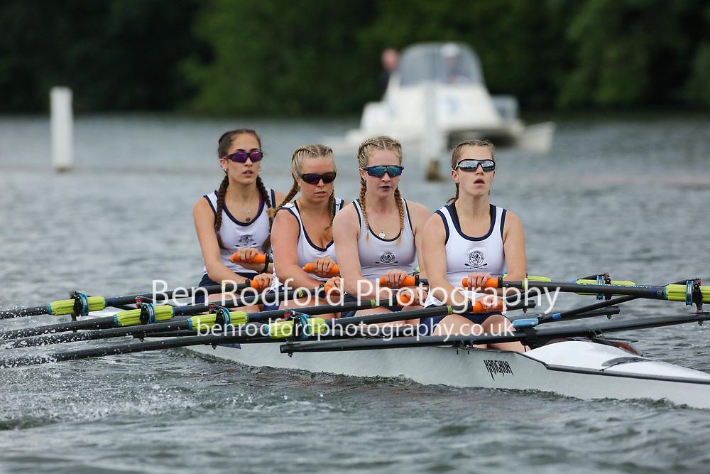 Junior 16 4x  Quarter-Final<br /> <br /> Henley RC <br /> Tideway Scullers School <br /> <br /> Henley Women's Regatta 2021<br /> Saturday