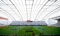 Rugby Union - 2017 British & Irish Lions Tour of New Zealand - Captains Run - <br /> <br /> General views of The British and Irish Lions during the Captains run at Forsyth Barr Stadium, Dunedin.<br /> <br /> COLORSPORT/LYNNE CAMERON