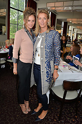 Left to right, JO MANOUKIAN and FIONA DREESMAN at a ladies lunch in aid of the charity Maggie's held at Le Cafe Anglais, 8 Porchester Gardens, London on 29th April 2014.