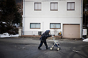 Fukushima  Furumichi  Village on the Border of the évacuation zone - March 2012.Furimichi is just situated on the border o the évacuation zone. Many old people decided to stay in the contaminated area. They dont have opportunity to go in a other place and prefer to live in their own village.