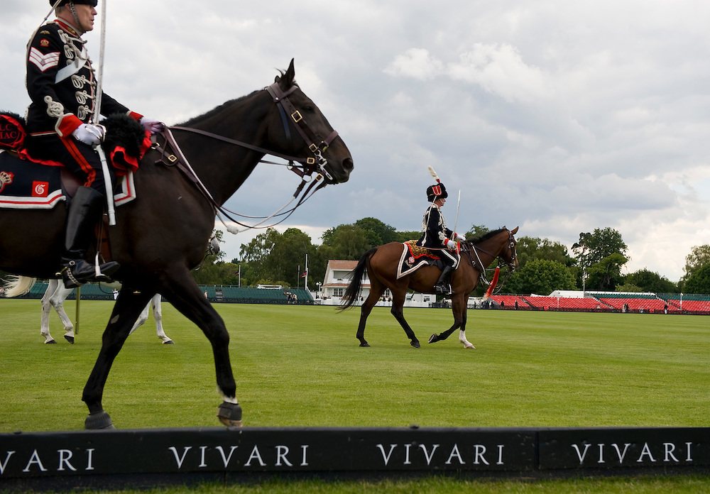 Windsor Great Park, England - 15 June   Her Majesty Queen Elizabeth the II attends the High Goal Polo Match Queen's Cup sponsored by Vivari one of the most important polo events of the season