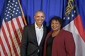 President Obama Visit to Atlanta 11/2/18