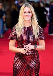 Edith Bowman attending the UK Premiere of A Star is Born held at the Vue West End, Leicester Square, London.