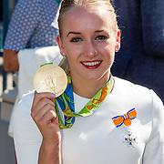 NLD/Den Haag/20160824 - Huldiging sport Rio 2016, Sanne Wevers
