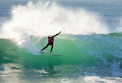 Jul 15, 2017 - Jeffreys Bay, South Africa - Joel Parkinson of Australia placed first in Round 1, Heat 1 and advances directly to Round Three of the Corona Open J-Bay. (Credit Image: © Pierre Tostee/World Surf League via ZUMA Wire)